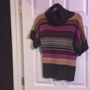 Body Central cowl neck short sleeves sweater